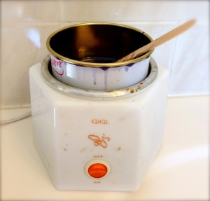 how to clean burnt wax warmer
